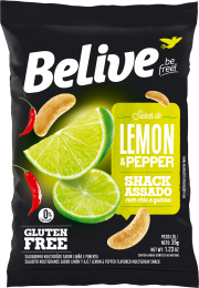 Snack Lemon Pepper 35g - Belive