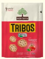 Snack Tribos Tomate 50g - Mãe Terra