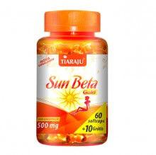 Sun Beta Gold (Betacaroteno) 500mg (60caps + 10 Grátis) - Tiaraju
