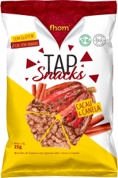 Tap Snack Cacau e Canela 25g - Fhom