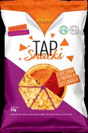 Tap Snack Curcuma e Paprica Defumada 25g - Fhom