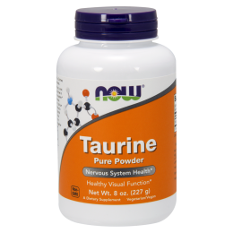Taurine Powder 227g - Now Sports
