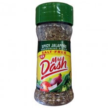 Tempero Spicy Jalapeño (71g) - Mrs Dash