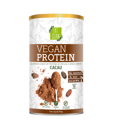 Vegan Protein Cacau 450g - Eat Clean