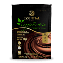 Veggie Protein (Sachê) Essential Nutrition-Cacao