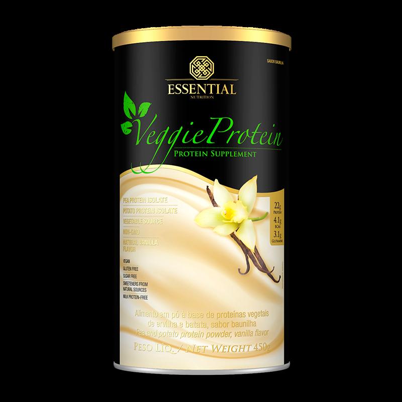 Veggie Protein (450g) Essential Nutrition-Vanilla