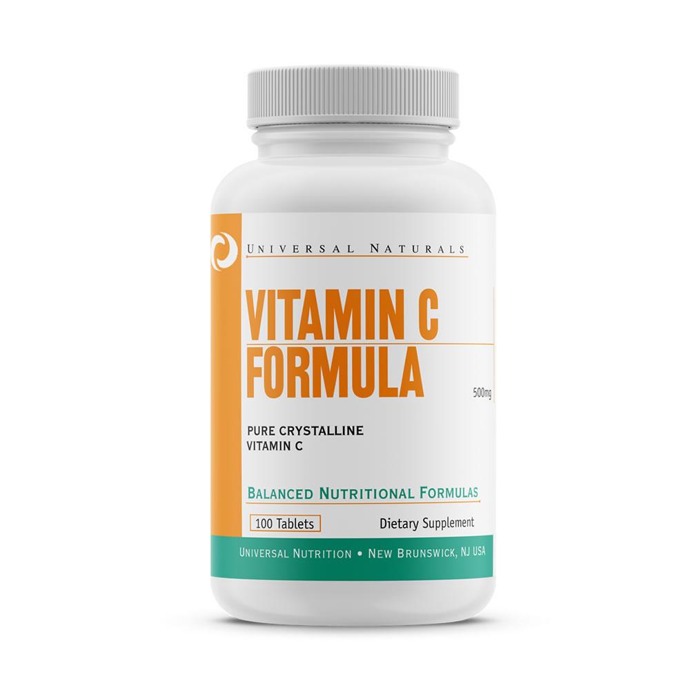 Vitamin C Formula (100tabs) Universal Nutrition