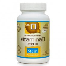 Vitamina D 200UI (60comp) - Stem Pharmaceutical