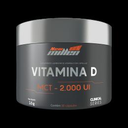 Vitamina D (30 Caps) - New Millen