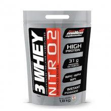 Whey 3W NitrO2 (Refil-1 8kg) New Millen-Morango