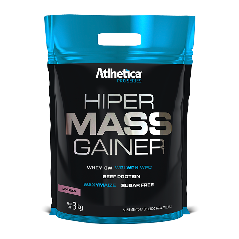 Hiper Mass Gainers (3kg) Atlhetica Nutrition