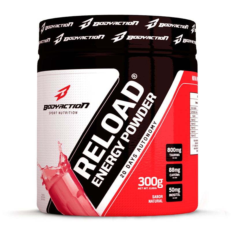 Reload Energy Powder (300g) Body Action