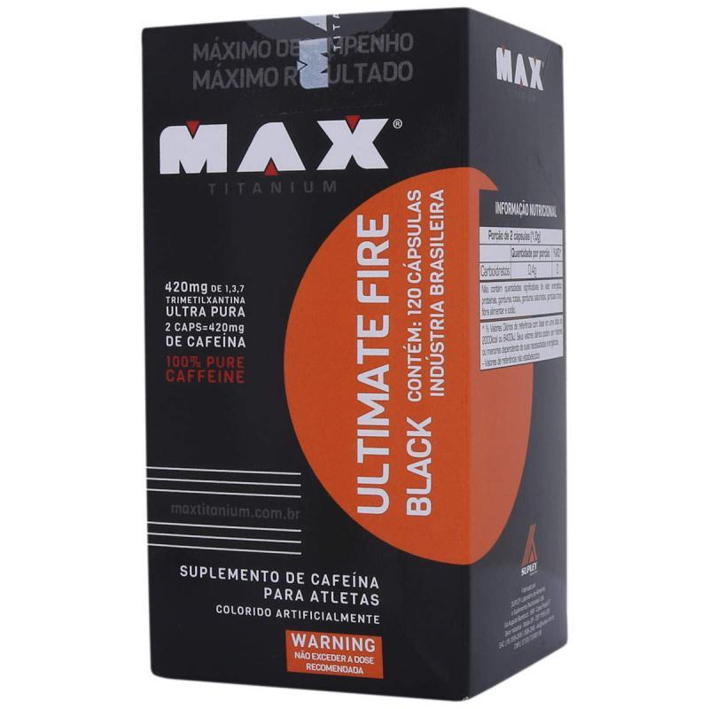 Ultimate Fire Black (120caps) Max Titanium