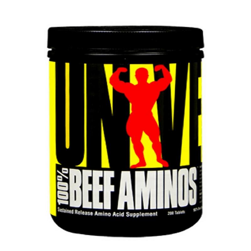 100% Beef Aminos (200tabs) Universal Nutrition