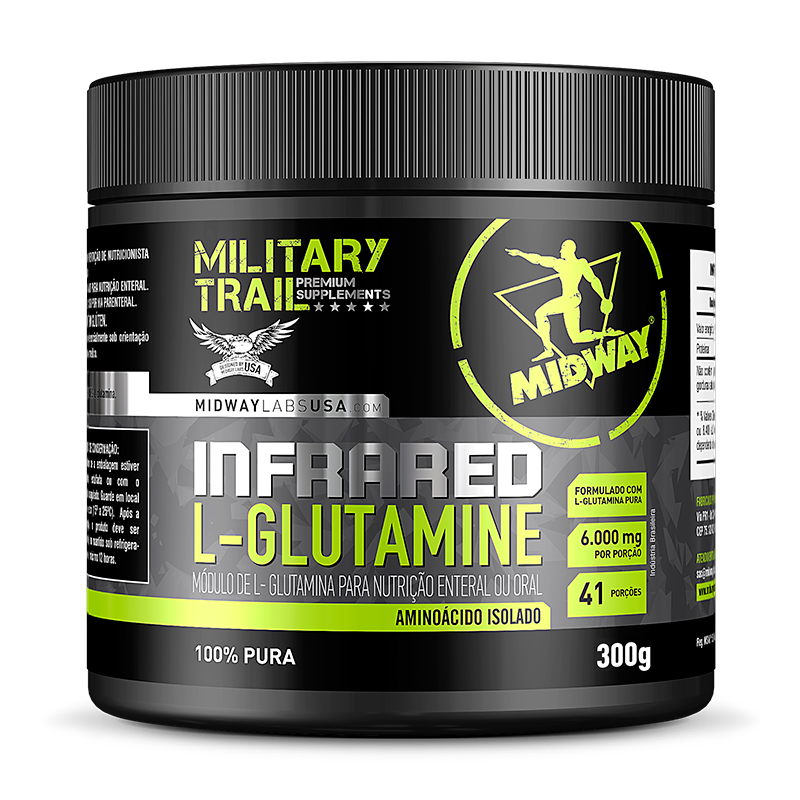 L-Glutamine Defense (300g) Military Trail