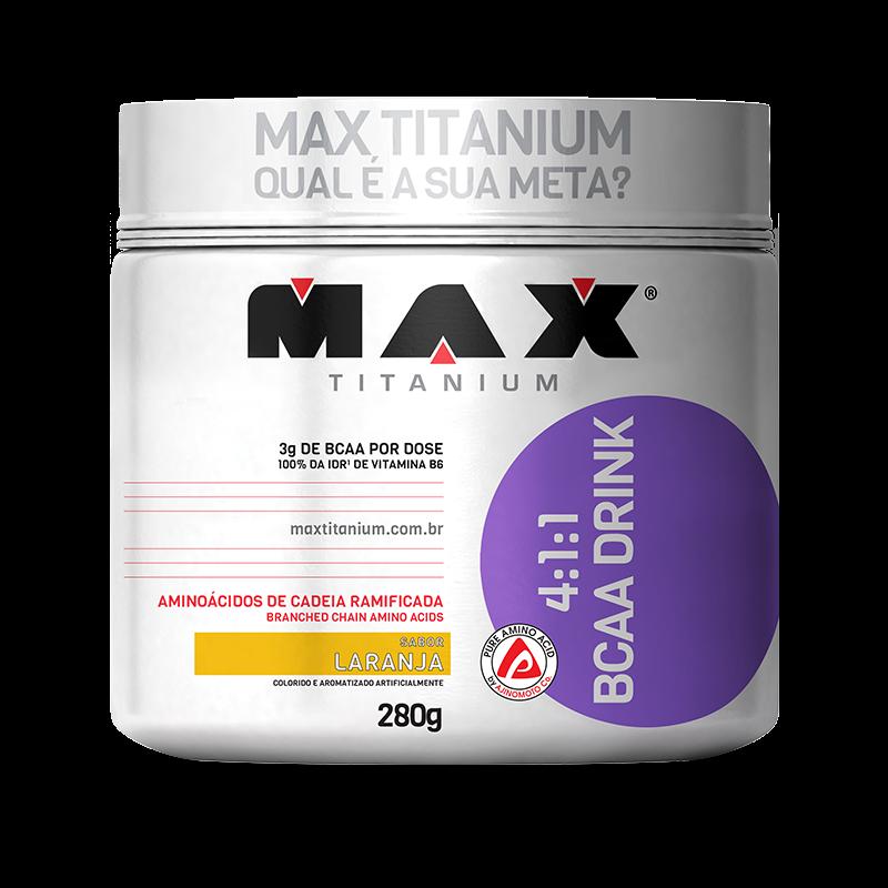 4:1:1 BCAA Drink (280g) Max Titanium