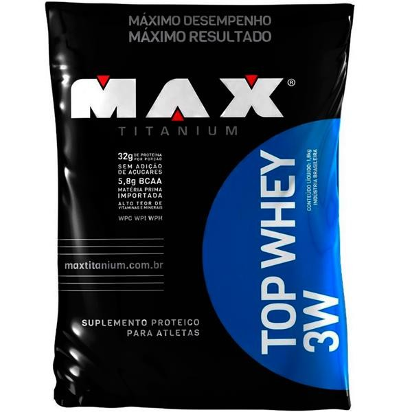 Top Whey 3W (Refil-1 8kg) Max Titanium