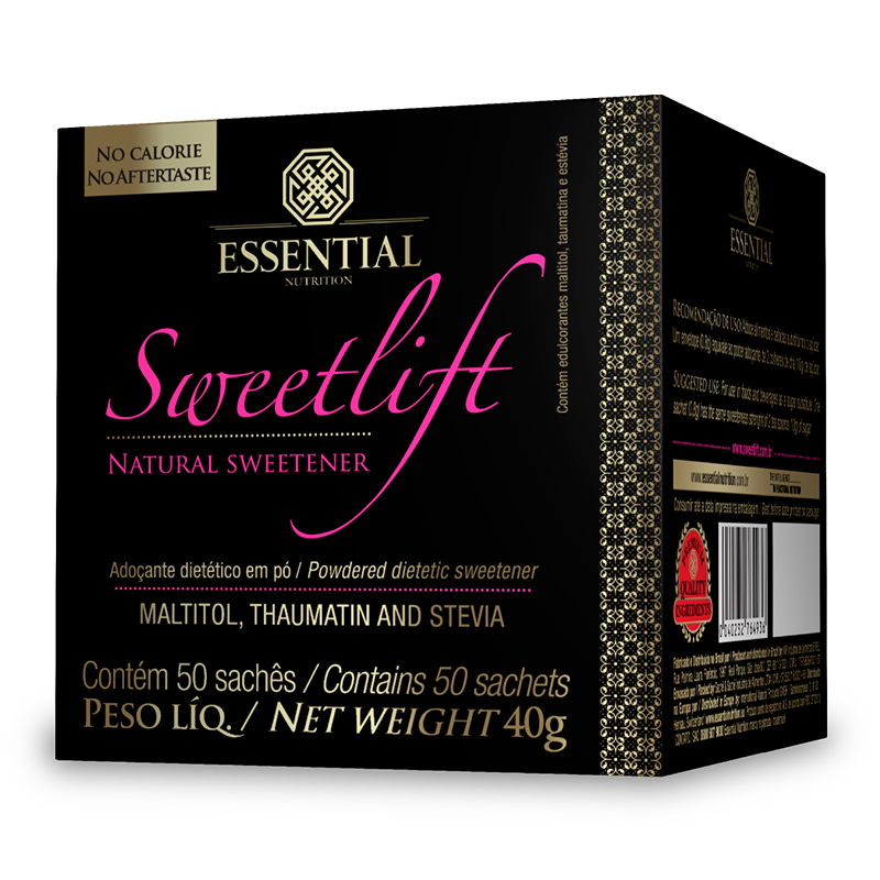 Sweetlift (50 sachês-0 8g) Essential Nutrition