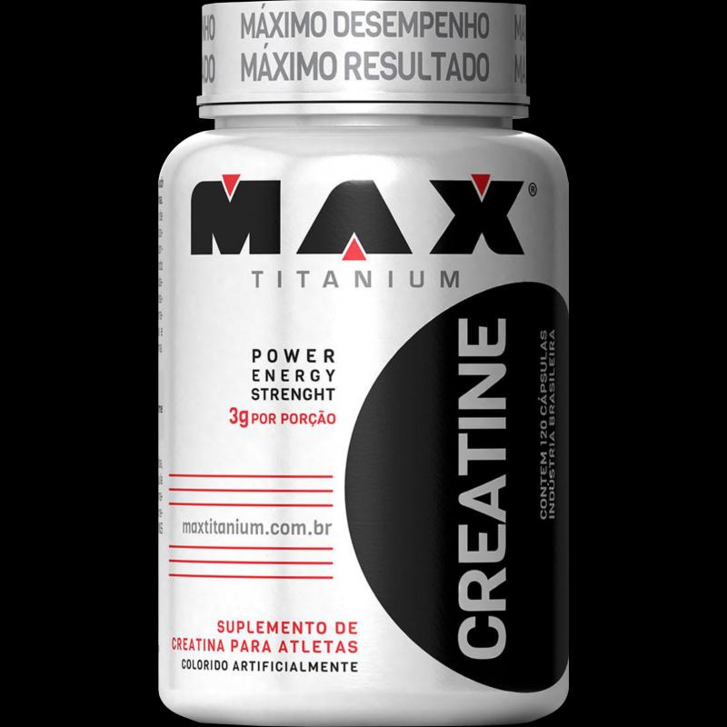Creatina Titanium (120caps) Max Titanium