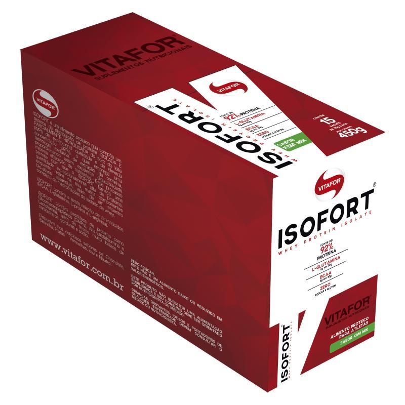 Isofort (15 sachês-30g) Vitafor-Baunilha