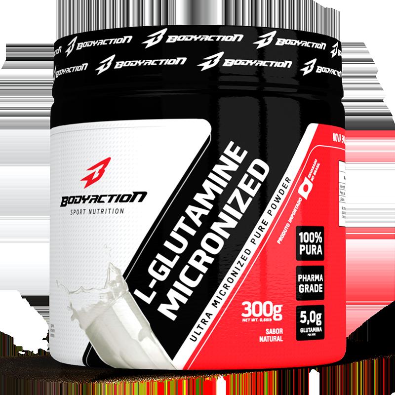 L-Glutamina (300g) Body Action