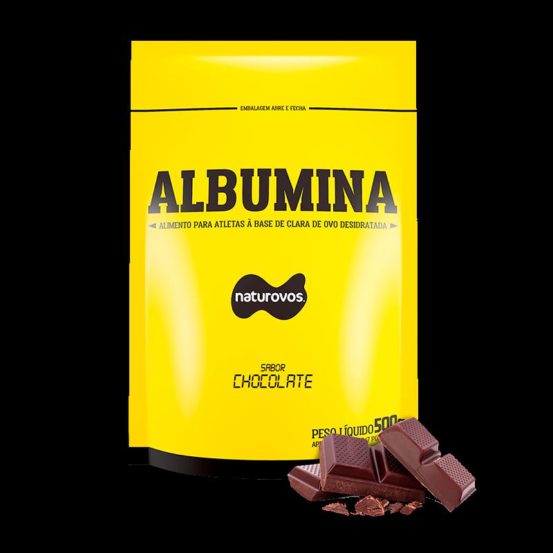 Albumina Chocolate (500g) Naturovos