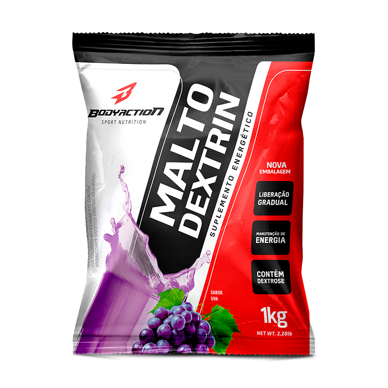 Maltodextrina (1kg) Body Action-Guaraná com Açaí