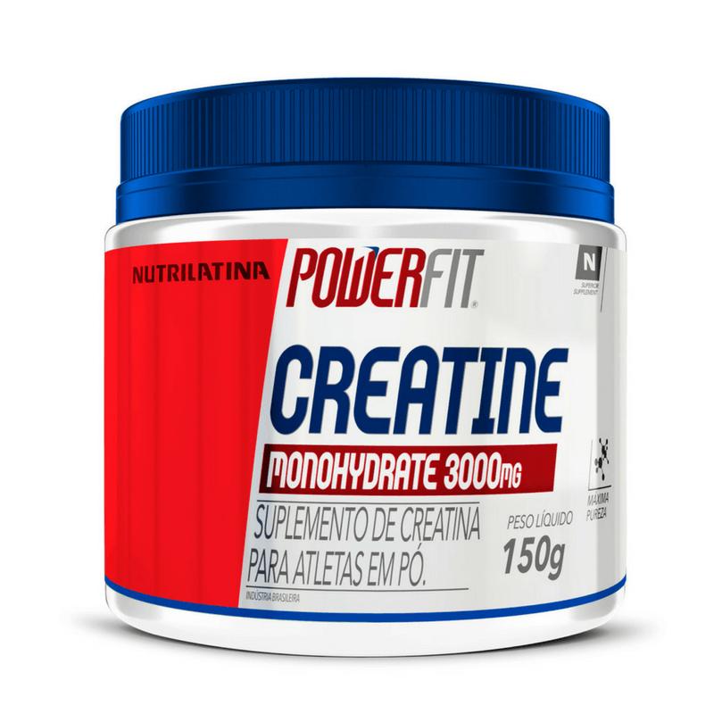 Creatina Monohydratade (150g) PowerFit Nutritilatina - 30% OFF