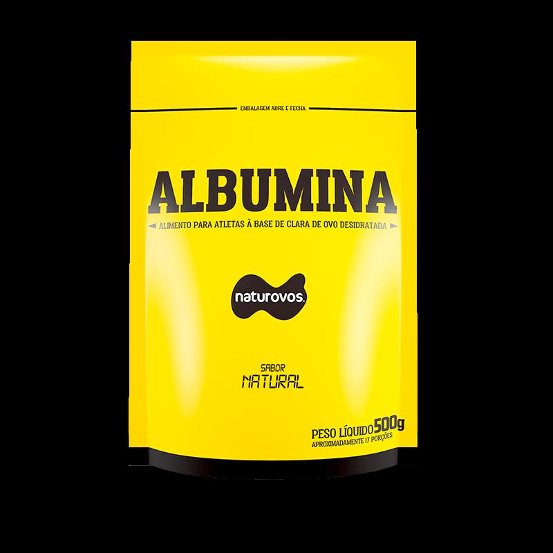 Albumina Pura 83% (500g) Naturovos