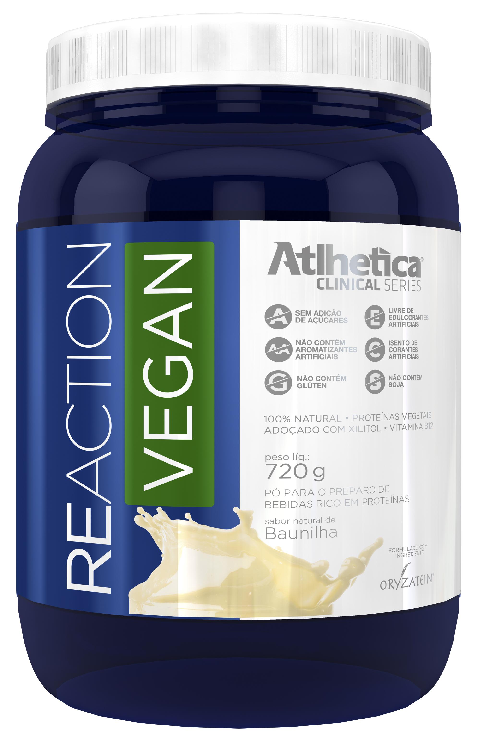 Reaction Vegan (720g) Atlhetica Nutrition