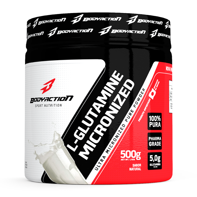 L-Glutamina (500g) Body Action