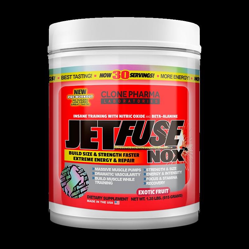 JetFuse NOX (615g) Clone Pharma-Exotic Fruit