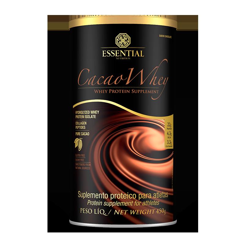 Cacao Whey (450g) Essential Nutrition