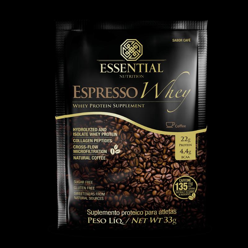 Expresso Coffe Whey (sachê de 33g) Essential Nutrition