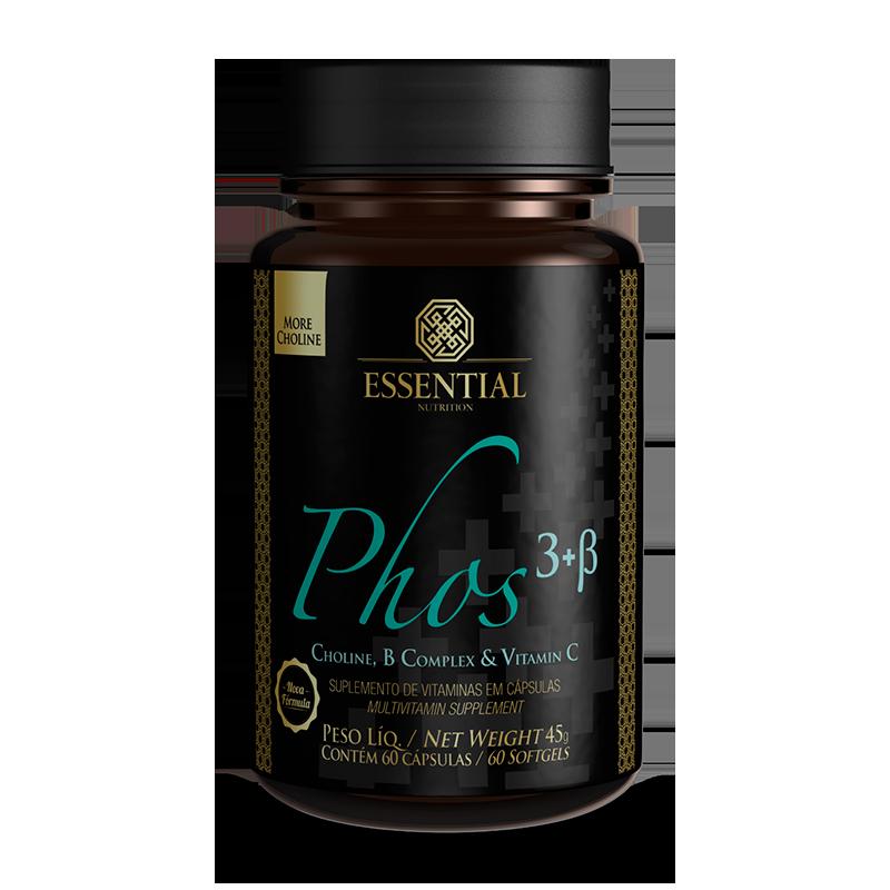 PHOS 3+B (60caps) Essential Nutrition