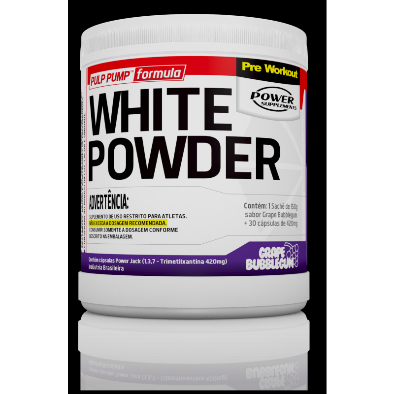 White Powder (150g + 30caps) Power Supplements