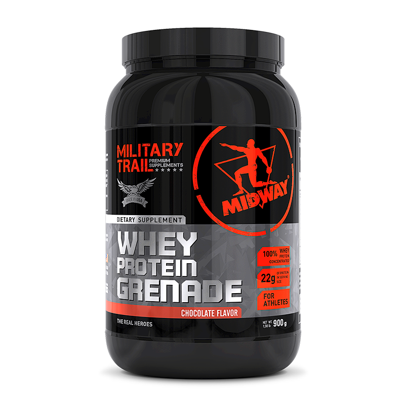 Whey Protein Grenade (900g) Military Trail