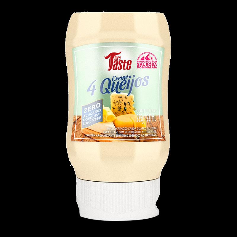 Creme 4 Queijos (235g) Mrs. Taste