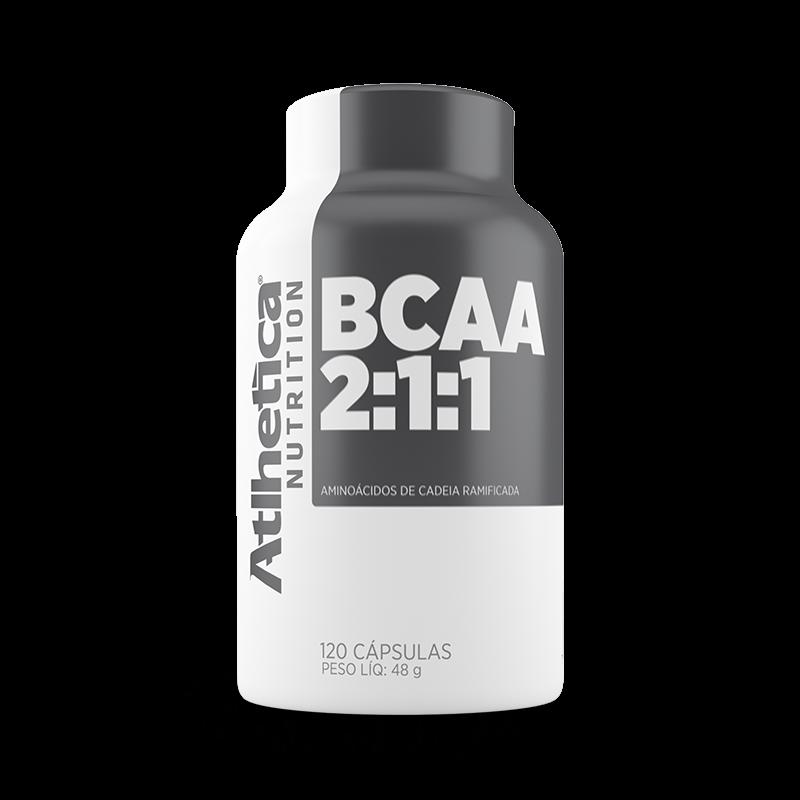 BCAA 2:1:1 (120caps) Atlhetica Nutrition