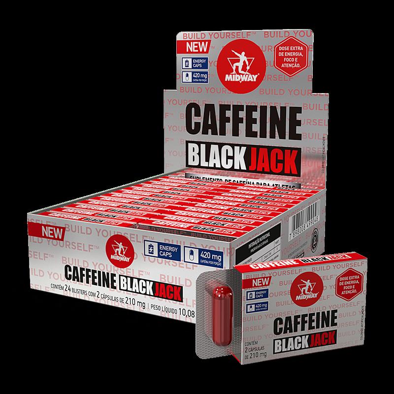 Caffeine Black Jack (24 blister) Midway