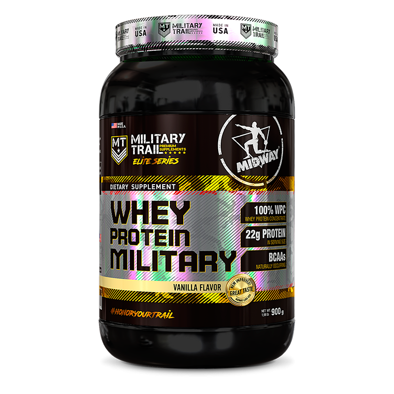 Whey Protein Military (900g) Military Trail-Chocolate