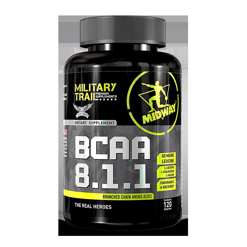 BCAA 8.1.1 (120caps) Military Trail