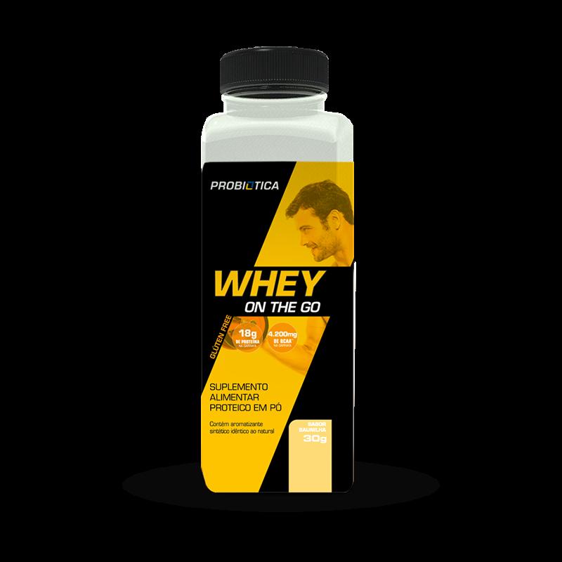 Whey On The Go (30g) Probiótica-Baunilha