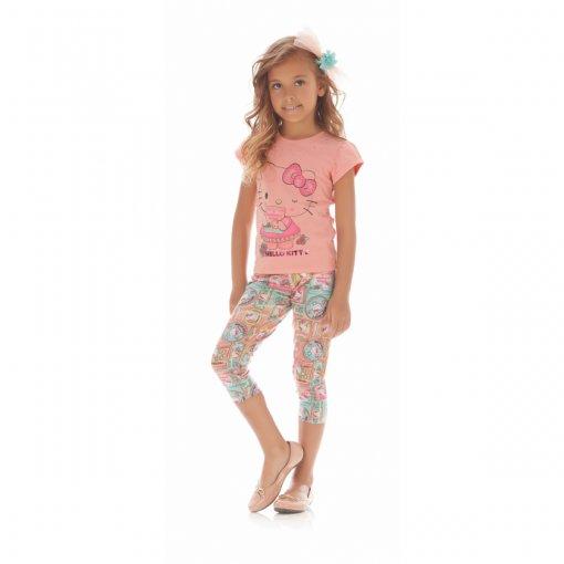 Legging Infantil Hello Kitty Cirrê 0304.87469