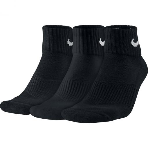 Kit 3 Meias Nike Cushion Quarter Sx4703-001
