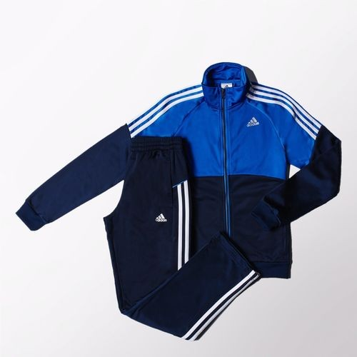 91f974993e7 Bizz Store - Agasalho Juvenil Adidas TS Gear Knit Azul Masculino