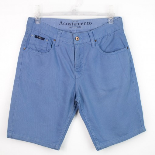 Bermuda Masculina Acostamento Jeans Sarja 61116041