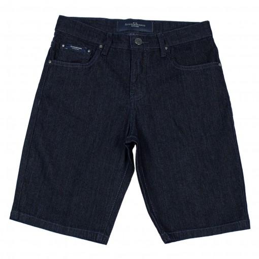 Bermuda Jeans Infantil Masculina Acostamento 68416021
