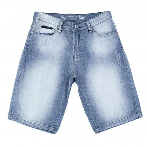 Bermuda Jeans Infantil Masculina Acostamento 68416024