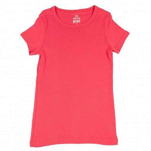 Camiseta Infantil Feminina Hering Kids Básica 5c97kgh07
